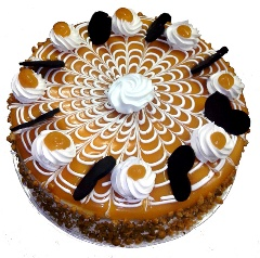 Butterscotch blast cake