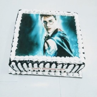Harry Potter Photo Cake - 1 kg