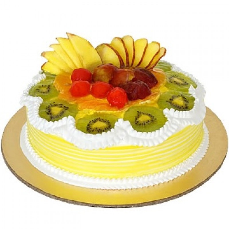 Fresh Fruit Cake - 100% Eggless
