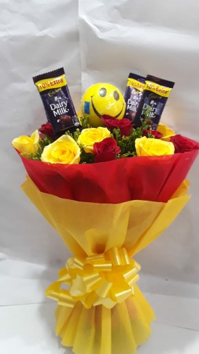 Send a Smile with Bouquet