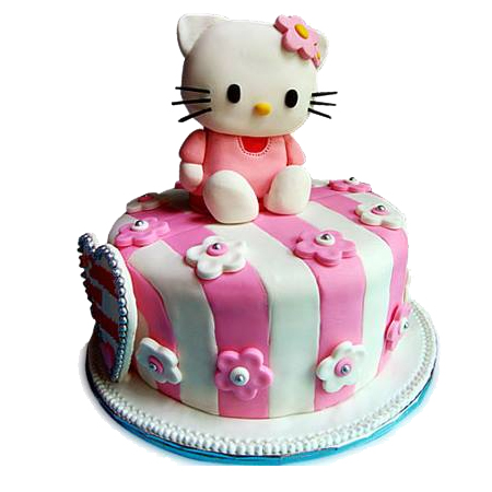 Half kg Cute Hello Kitty Cake